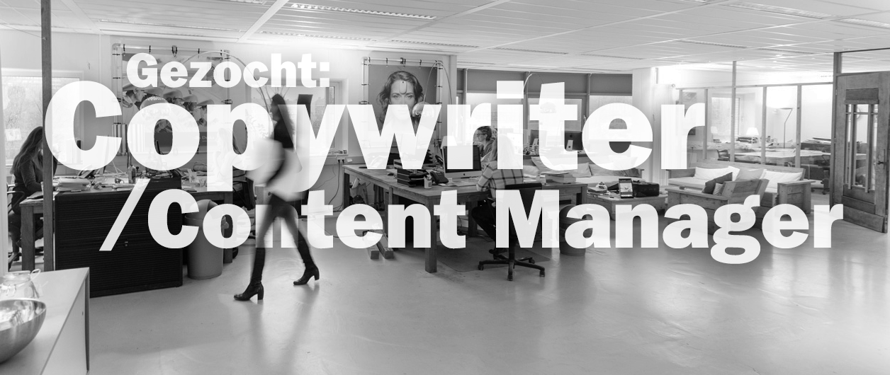 Vacature Copywriter / Content Manager