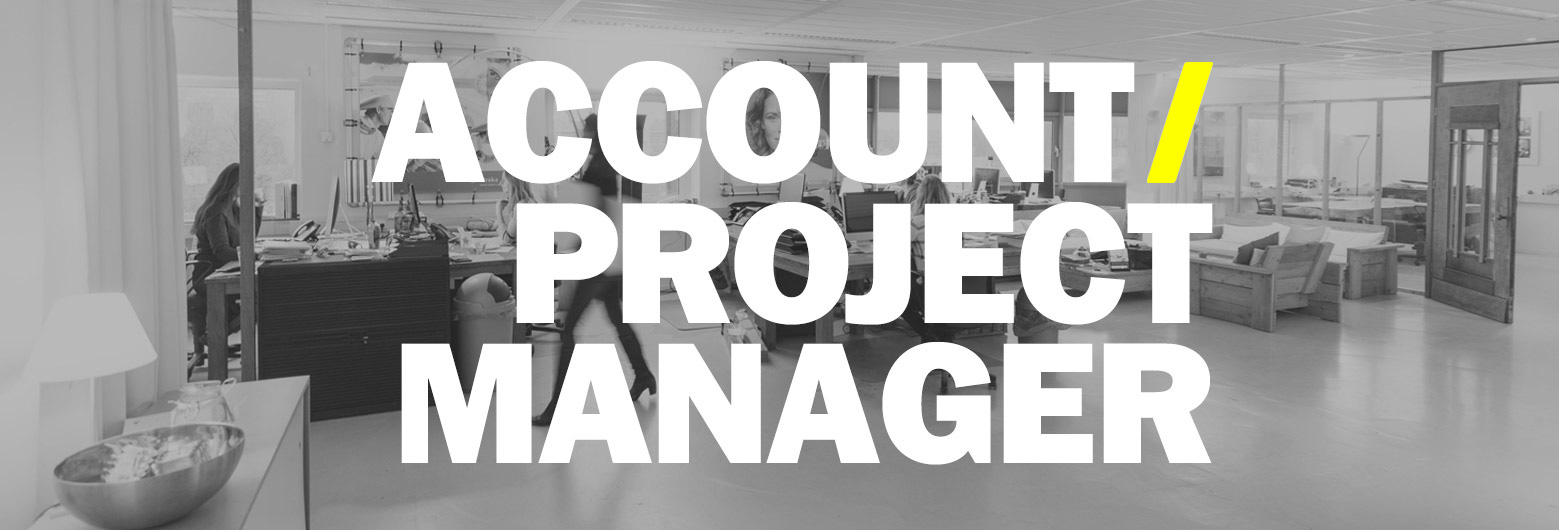 Vacature Account / Projectmanager mei 2019
