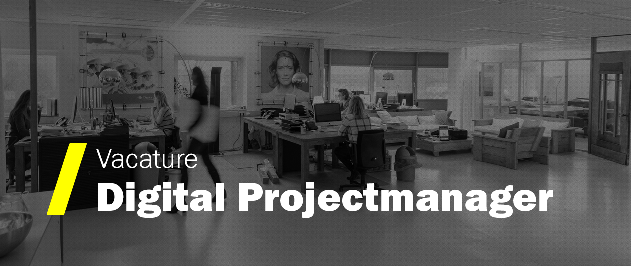 Vacature Digital Projectmanager