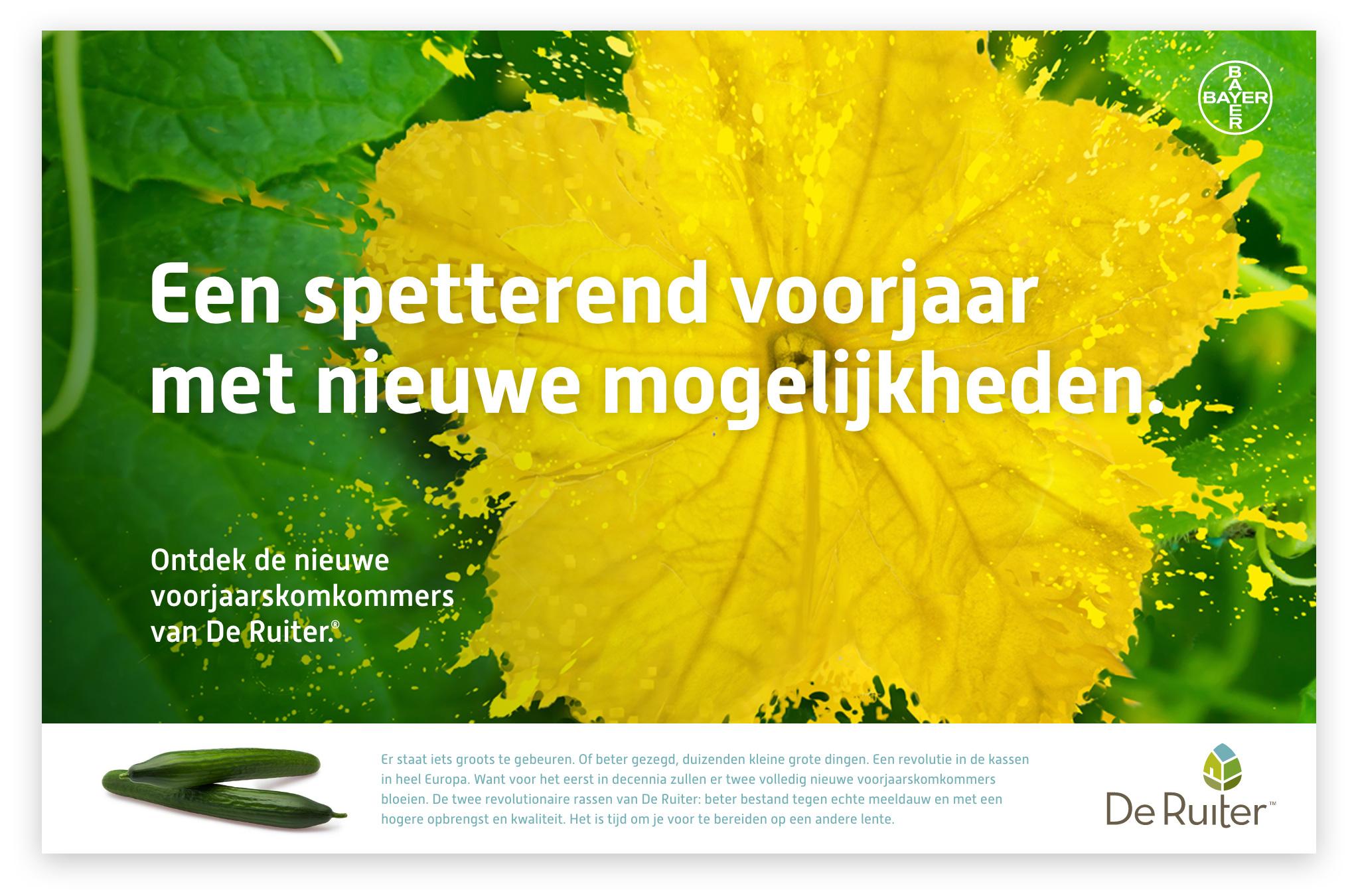 De Ruiter Seeds Komkommer campagne